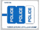 Part No: 60041stk01b  Name: Sticker Sheet for Set 60041 - North American Version - (16889/6064393)