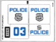 Part No: 60043stk01b  Name: Sticker Sheet for Set 60043 - North American Version - (17097/6065794)