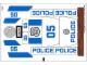 Part No: 60045stk01  Name: Sticker Sheet for Set 60045 - (14812/6044153)