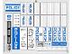 Part No: 60047stk01  Name: Sticker Sheet for Set 60047 - (14826/6044176)