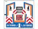 Part No: 60056stk01b  Name: Sticker Sheet for Set 60056 - North American Version - (16537/6061959)