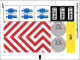 Part No: 60073stk01a  Name: Sticker Sheet for Set 60073 - International Version - (19471/6099764)