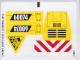Part No: 60074stk01  Name: Sticker Sheet for Set 60074 - (19477/6099781)