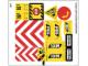Part No: 60076stk01  Name: Sticker Sheet for Set 60076 - (19485/6099795)