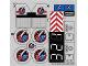 Part No: 60080stk01b  Name: Sticker Sheet for Set 60080 - North American Version - (20813/6109078)