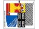 Part No: 60082stk01b  Name: Sticker Sheet for Set 60082 - North American Version - (19278/6097577)
