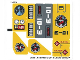 Part No: 60092stk01b  Name: Sticker Sheet for Set 60092 - Solid Color Background Version - (20801/6109064)