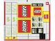 Part No: 60097stk01  Name: Sticker Sheet for Set 60097 - Sheet 1 (20814/6109079)