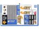 Part No: 60097stk02a  Name: Sticker Sheet for Set 60097 - Sheet 2 - International Version - (21914/6120558)