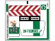 Part No: 60097stk03b  Name: Sticker Sheet for Set 60097 - Sheet 3 - North American Version - (21918/6120565)