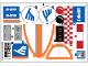 Part No: 60104stk01b  Name: Sticker Sheet for Set 60104 - North American Version - (24554/6133221)