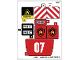 Part No: 60107stk01a  Name: Sticker Sheet for Set 60107 - International Version - (24509/6133137)