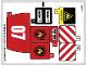 Part No: 60107stk01b  Name: Sticker Sheet for Set 60107 - North American Version - (24515/6133144)