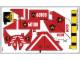 Part No: 60108stk01b  Name: Sticker Sheet for Set 60108 - North American Version - (24516/6133145)