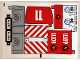 Part No: 60111stk01a  Name: Sticker Sheet for Set 60111 - International Version - (24513/6133141)