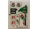 Part No: 60115stk01b  Name: Sticker Sheet for Set 60115 - North American Version - (24498/6133102)