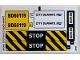 Part No: 60119stk01a  Name: Sticker Sheet for Set 60119 - International Version - (24494/6133095)