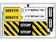 Part No: 60119stk01b  Name: Sticker Sheet for Set 60119 - North American Version - (24502/6133107)