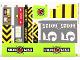 Part No: 60125stk01  Name: Sticker Sheet for Set 60125 - (24531/6133176)