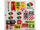 Part No: 60132stk01a  Name: Sticker Sheet for Set 60132 - International Version - (24532/6133177)