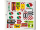 Part No: 60132stk01b  Name: Sticker Sheet for Set 60132 - North American Version - (24541/6133185)