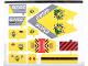 Part No: 60162stk01  Name: Sticker Sheet for Set 60162 - (34421/6195299)