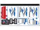 Part No: 60182stk01  Name: Sticker Sheet for Set 60182 - (36333/6214924)