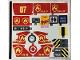 Part No: 60216stk01  Name: Sticker Sheet for Set 60216 - (44491/6248672)