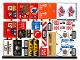 Part No: 60233stk01  Name: Sticker Sheet for Set 60233 - (44578/6248705)