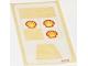 Part No: 604.1stk01  Name: Sticker for Set 604-1 - Shell Car - (4318)