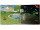 Part No: 6064213  Name: Paper, Cardboard Backdrop for Set 45014, Aliens Moonscape / Chipmunks Park Pattern