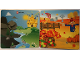 Part No: 6064216  Name: Paper, Cardboard Backdrop for Set 45014, Scarecrow Fall / Castle River Pattern