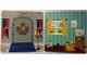 Part No: 6064217  Name: Paper, Cardboard Backdrop for Set 45014, Child's Room / Castle Shield Flag Pattern