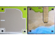 Part No: 6199600  Name: Paper, Playmat Friends Heartlake City, Double-Sided, Road End / Beach with Pier (853671)