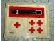 Part No: 623.1stk01  Name: Sticker Sheet for Set 623-1 - (4762)