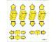 Part No: 6377stk01  Name: Sticker Sheet for Set 6377 - Sheet 1 (195645)