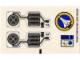 Part No: 6454stk02  Name: Sticker Sheet for Set 6454 - Sheet 2 (72553/4118674)