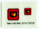 Part No: 6525stk01  Name: Sticker for Set 6525 - (169575)
