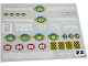 Part No: 6542stk01  Name: Sticker Sheet for Set 6542 - (820673)