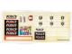 Part No: 6598stk01  Name: Sticker Sheet for Set 6598 - (170872)