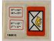 Part No: 6689stk01  Name: Sticker for Set 6689 - (196815)