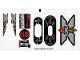Part No: 6740stk01  Name: Sticker Sheet for Set 6740 - (43664/4173456)