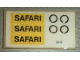 Part No: 699.1stk01  Name: Sticker for Set 699-1 - (3673)