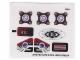 Part No: 70166stk01a  Name: Sticker Sheet for Set 70166 - International Version - (20141/6103470)