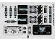 Part No: 70169stk01a  Name: Sticker Sheet for Set 70169 - International Version - (20388/6105673)