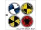 Part No: 7016stk01  Name: Sticker Sheet for Set 7016 - (54207/4277616)