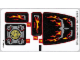 Part No: 70222stk01b  Name: Sticker Sheet for Set 70222 - Solid Color Background Version - (20134/6103448)