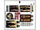 Part No: 70314stk01  Name: Sticker Sheet For Set 70314 - (24352/6132309)