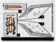 Part No: 70358stk01  Name: Sticker Sheet for Set 70358 - (31804/6179291)