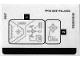 Part No: 70361stk01  Name: Sticker Sheet for Set 70361 - (33989/6192558)